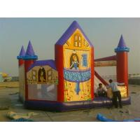 Quality Colorful princess Inflatable Jumping Castle / bouncing house for entertainment wholesale