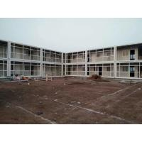 China Flat Pack Prefabricated Container House , Storage Moduler Container Mobile Home on sale
