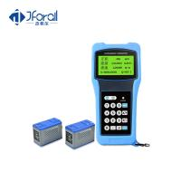 Buy cheap Portable Clamp On Ultrasonic Flow Meter With LCD Display ABS Material from wholesalers