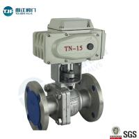 Quality API 607 CF3 Stainless Ball Valve of Petrol Chemical Valve with Motorized Actuator wholesale