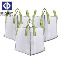 Skirt Top 1 Tonne Bulk Bags / Jumbo Bulk Bags Moisture Proof Customized Color