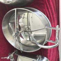 Quality Stainless Steel Oval Inward Opening Manway Covers Designer for Food, Beverage Equipment wholesale