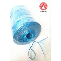 Quality Fibrillated Split Film PP Twine In Ball Roll And Spool / Polypropylene Rope wholesale