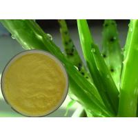 Quality Food / Cosmetic Grade Aloe Vera Extract Powder Promoting Blood Circulation wholesale