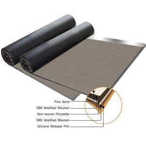 Quality Non woven compound glassfiber mat SBS modified bitumen waterproof membrane wholesale