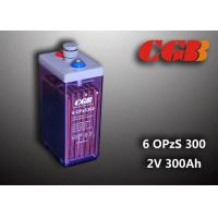 Quality 2V 6 OPzS300 Rechargeable Tube Opzs Solar Batteries UPS Telecom Application wholesale