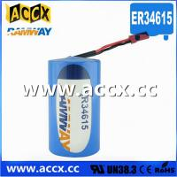 Quality ER34615 with connector 3.6V 19000mAh  d cell lithium battery wholesale