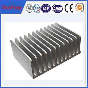 Quality Hot! aluminum profile extrusion 6063 aluminium alloys aluminum radiator wholesale