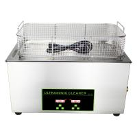 Cheap 30L Fuel Injector Digital Ultrasonic Cleaner With Heater 20C - 80C Adjust for sale