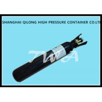 Quality Black / White Industrial Stainless Steel Gas Bottle Co2 N2o 46.7L wholesale