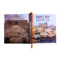 Quality Cookbook / Hardcover Book Printing with Wood Free Paper in Section Sewn And Perfect Binding wholesale