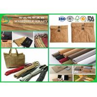Quality Different Color Washable Kraft Liner Paper Roll For Making Bag / Wallet wholesale