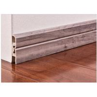 Quality Interior Decorative Pvc Skirting Boards Flooring Accessories With Strip wholesale