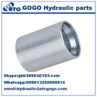 Quality 4sp 4sh R12 Hose Ferrule Hydraulic Quick Connect Hose Fittings 1/4 Inch 3/8 Inch wholesale