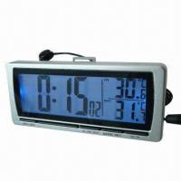 China LCD Clock With In/Out Temperature on sale