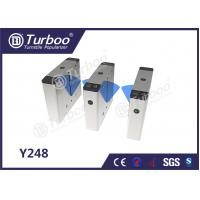 Quality Bi - Directional Flap Barrier Turnstile 35 Persons / Min Transit Speed wholesale