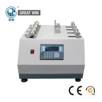 Quality Shoe Lace Abrasion Fabric Testing Machine 54 - 66 Cycles / Min 52 . 2 ° Angle wholesale
