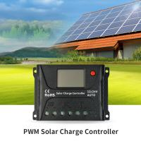 China SR HP2410 PWM Solar Charge Controller PWM Smart Charging With LCD Screen on sale