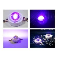 China High Power UV LED Diode 1W 3W 380nm - 400nm for Medical / Printing / Curing on sale