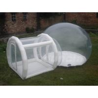 Buy cheap 0.5mm TPU Inflatable Show Ball With 0.6mm PVC Tarpaulin Base And Tunnel from wholesalers