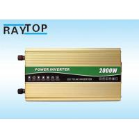 Cheap 2000W Vehicle Power Inverter Peak Power 4000W Inverter With 6 High Protects for sale