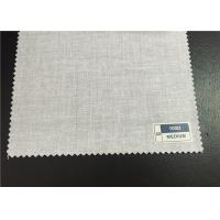 China Recycled Grey Cotton And Polyester Fabric For Hotel / Home Textile on sale