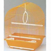 Quality Pet Cage, Made of Wire and Plastic, Available in Size of 30 x 23 x 39cm wholesale