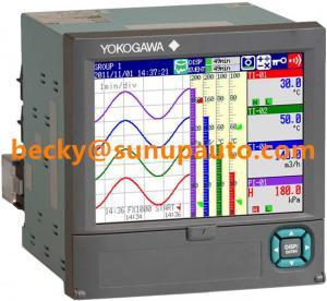 China Yokogawa Panel Mounted Paperless Recorders Value Series FX1000 6 Channels Data Loggers on sale