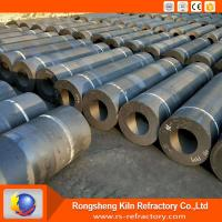 Quality Low Ash / Resistivity Graphite Electrode High Mechanical Strength Compact Structure wholesale
