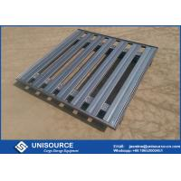 Rust Proof Stackable Warehouse Steel Pallet Strong For Heavy Duty Load
