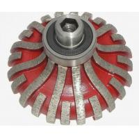 Quality F20 F25 F30 Segmented Type Diamond Router Bits Red Color OEM / ODM Available wholesale