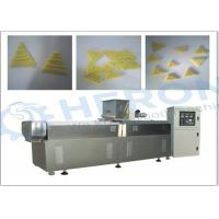 Quality Twin screw 2D pellet Triangle Snacks Production Line / snack food equipment wholesale
