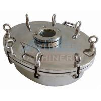 Quality Good Quality Sanitary Stainless Steel Manhole Cover SS316L Sanitary Manhole Cover wholesale