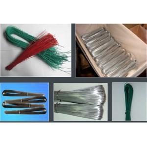 China U Type PVC Coated Galvanized Wire , Dia 1.2mm / 1.4mm Galvanized Iron Wire on sale