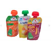 Quality Durable And Leakage-proof Customize Printed Spout Pouch Doypacks With Nozzle for Fruit Juice and Any Liquid substance wholesale