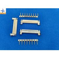 Quality 1 Row LVDS Display Connector , Wire To Board Connector 1.0mm Exact Size Equivalent wholesale