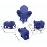 Quality Elephant Vinyl Rubber Bath Toys , Squeezing Rubber Ducks Custom Color wholesale