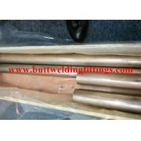 China SGS / BV / ABS / LR CuNi 70/30 Seamless Copper-Nickel Tube  For Air Condition on sale