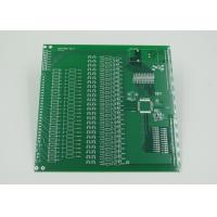 Quality Silver Plated Impedance Controlled PCB with 2mil Trace Green Solder Mask wholesale