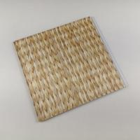Quality Bamboo Style Laminating PVC Wall Panels , PVC Bathroom Wall Cladding Decoration wholesale