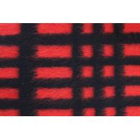 Quality Modern Plaid Style Check Wool Fabric For Blanket 590G / M Weight wholesale
