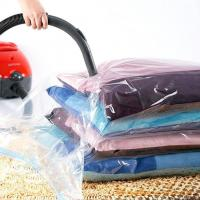 Quality Household Storage Vacuum Seal Garment Bags Space Saver Saving Quilt Storage Bag With Free Hand Pump wholesale