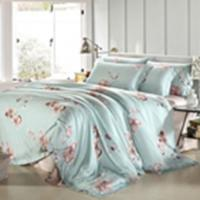 Quality Customized Pieces Home Bedroom Bedding Sets , Flower Printed Bedding Sets wholesale