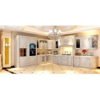 Quality Rustic Style solid wood kitchen cabinet,wooden furniture.Germany style kitchen cabinet wholesale
