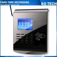 Quality KO-M10C DC12V TCP/IP Based Card Attendance With Password/PINS Optional GPRS wholesale