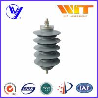 Quality Lightning Protection Equipment Polymeric Metal Oxide Surge Arrester 10KA , 24KV wholesale