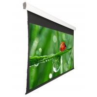 Quality OEM ODM  Tab Tensioned Motorized Screen , 133'' or 150 inch motorized projection screen wholesale