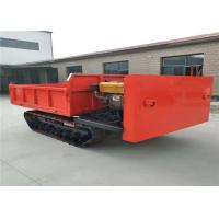 Quality Red Color 4 x 4 Drive Crawler Transporter / Track Carrier For Palm Tree wholesale