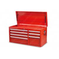 China PreCut Drawer Liners Mobile Tool Storage , Red Tool Box Top Cabinet 1045*450*526 Mm on sale