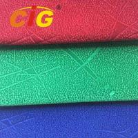 Buy cheap 100% Polyester  148cm width and 165gsm Flock Fabric For Seat Cover from wholesalers